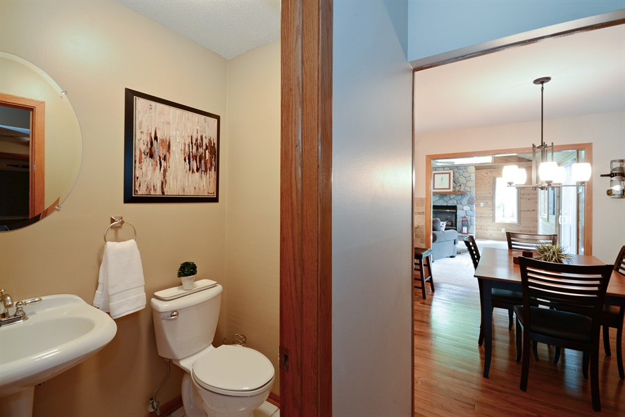 Real Estate Photography - 2001 Sibley Ct, Burnsville, MN, 55337 - Powder Room