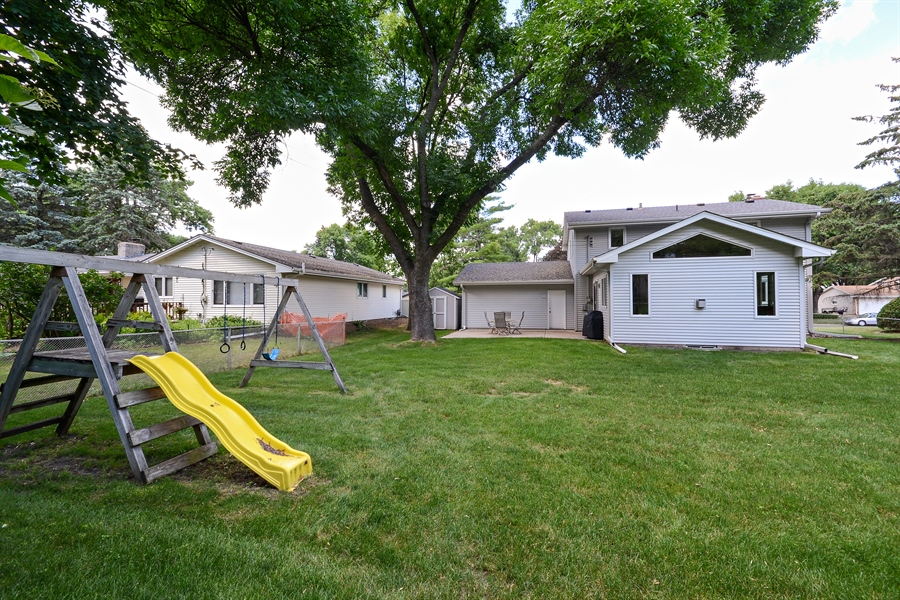 Real Estate Photography - 2001 Sibley Ct, Burnsville, MN, 55337 - Rear View