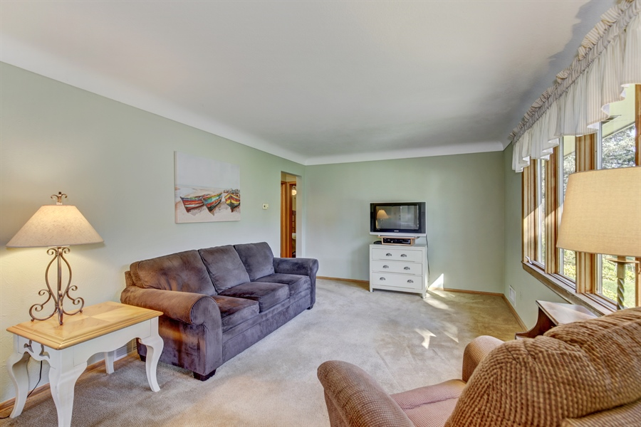 Real Estate Photography - 3027 Lake St, Maplewood, MN, 55109 - Living Room