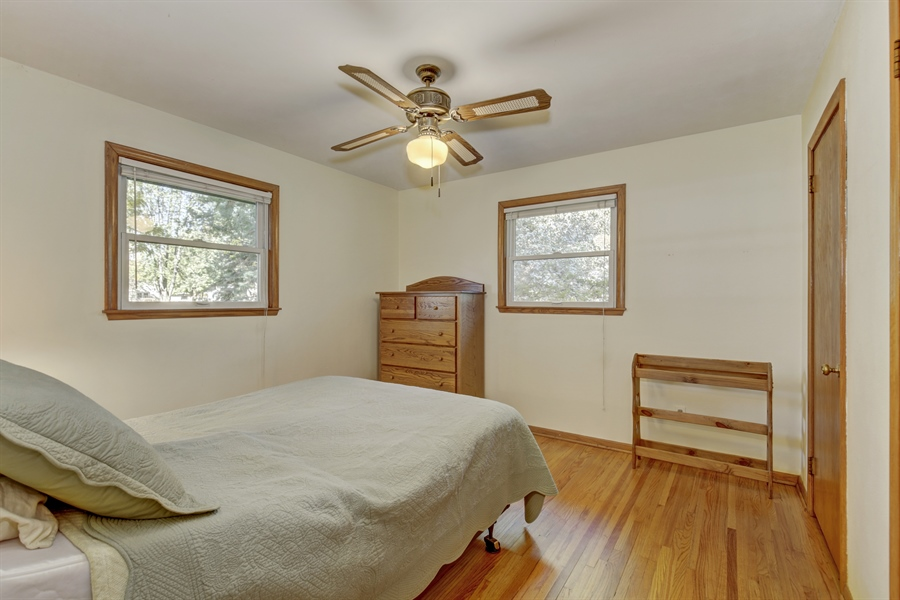 Real Estate Photography - 3027 Lake St, Maplewood, MN, 55109 - 3rd Bedroom