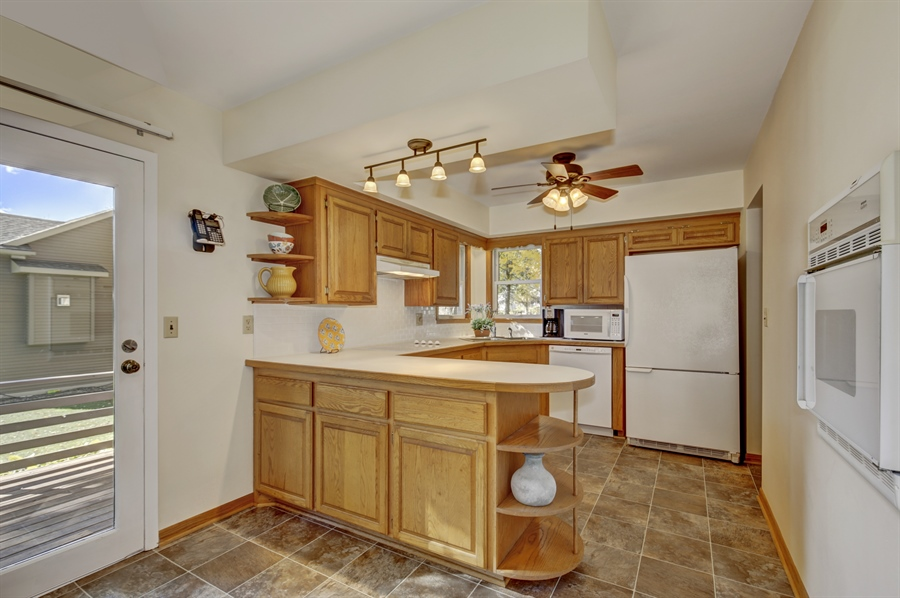 Real Estate Photography - 3027 Lake St, Maplewood, MN, 55109 - Kitchen