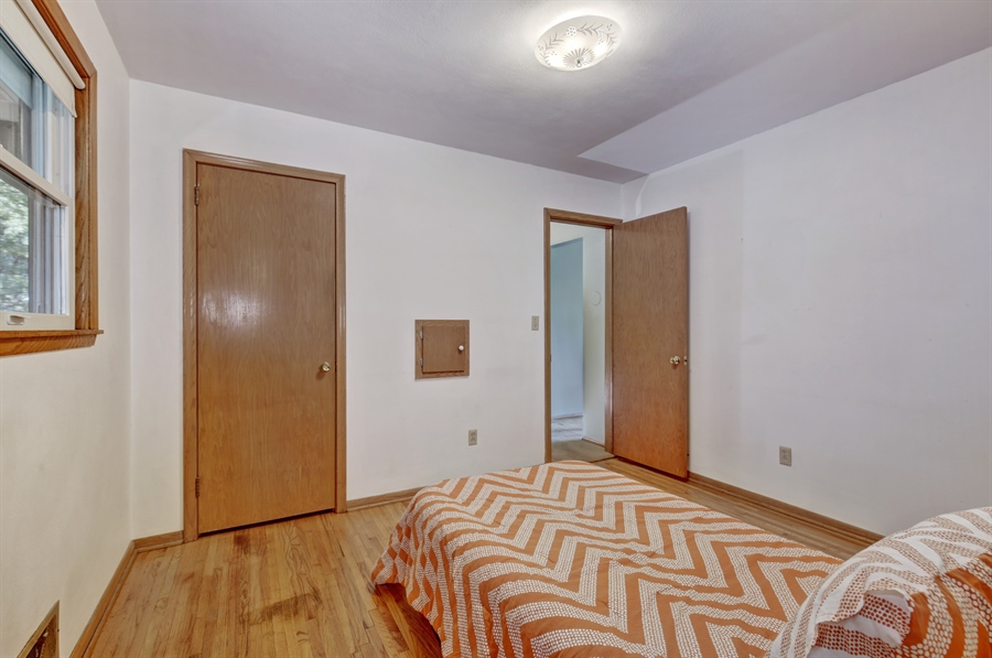 Real Estate Photography - 3027 Lake St, Maplewood, MN, 55109 - Bedroom