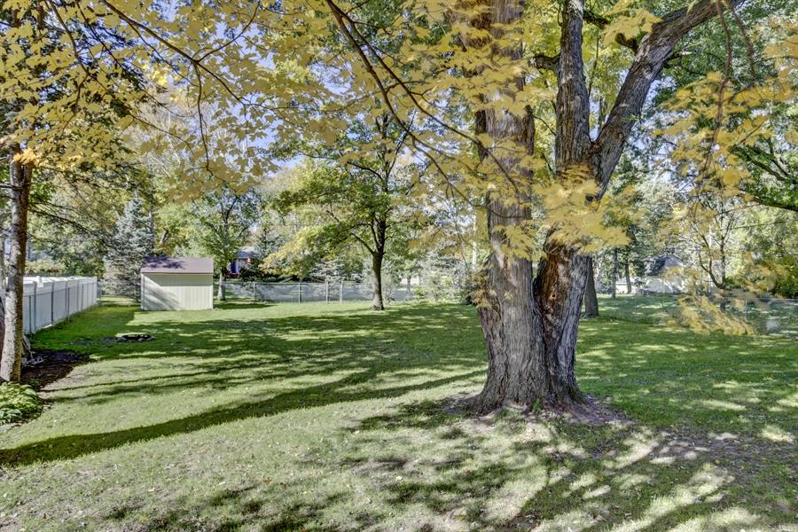 Real Estate Photography - 3027 Lake St, Maplewood, MN, 55109 - Back Yard