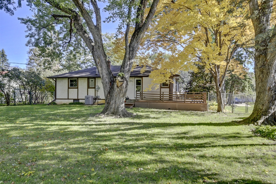 Real Estate Photography - 3027 Lake St, Maplewood, MN, 55109 - Rear View