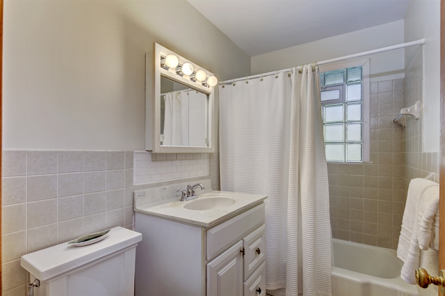 Real Estate Photography - 3027 Lake St, Maplewood, MN, 55109 - Bathroom