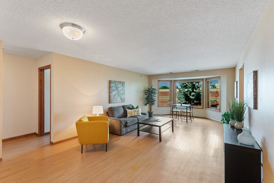 Real Estate Photography - 32 11th Ave S #303, Hopkins, MN, 55343 - Living Room