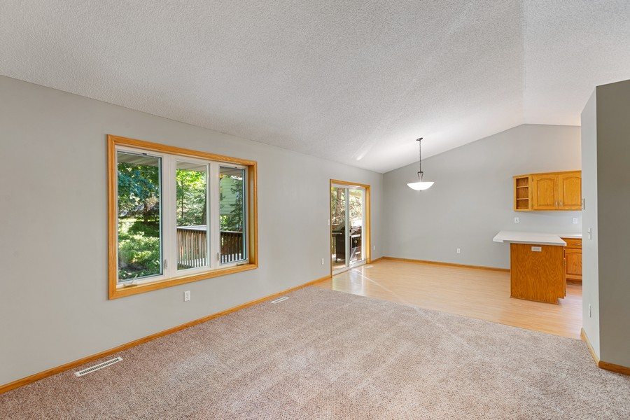 Real Estate Photography - 4885 Rustic Way, Shorewood, MN, 55331 - Living Room