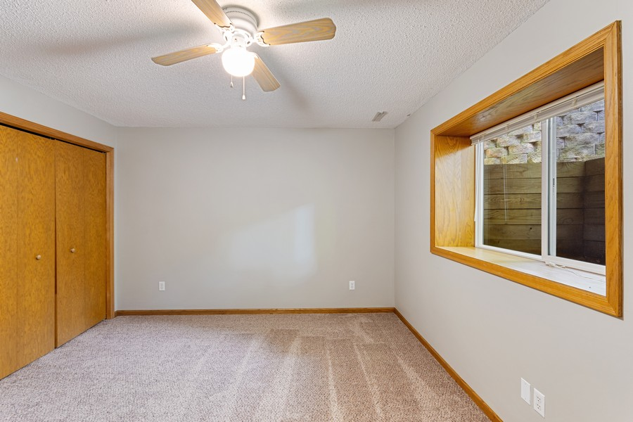 Real Estate Photography - 4885 Rustic Way, Shorewood, MN, 55331 - 2nd Bedroom