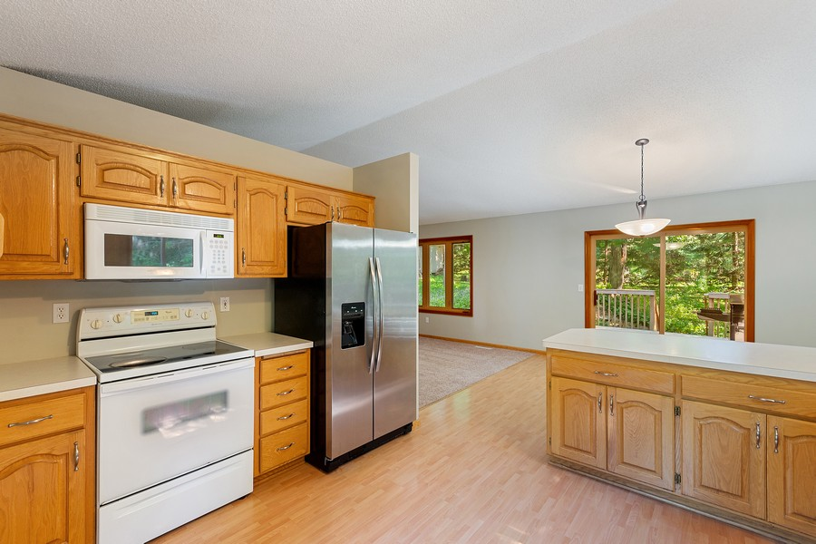 Real Estate Photography - 4885 Rustic Way, Shorewood, MN, 55331 - Kitchen