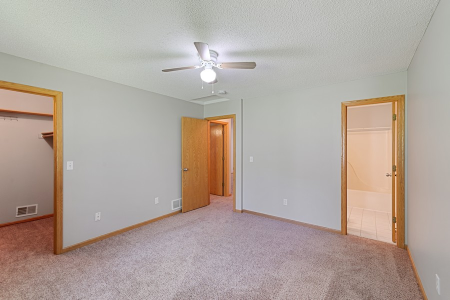 Real Estate Photography - 4885 Rustic Way, Shorewood, MN, 55331 - Master Bedroom