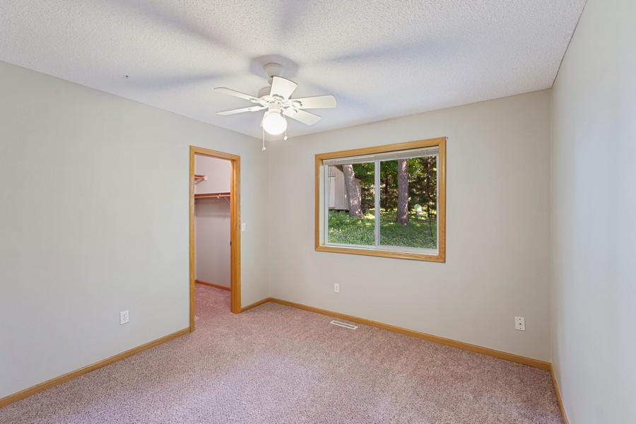 Real Estate Photography - 4885 Rustic Way, Shorewood, MN, 55331 - Bedroom