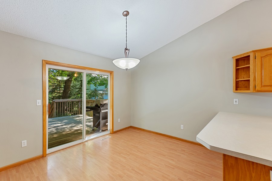 Real Estate Photography - 4885 Rustic Way, Shorewood, MN, 55331 - Dining Room
