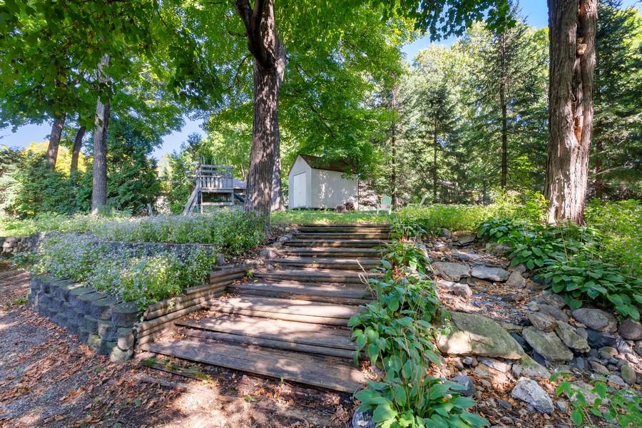 Real Estate Photography - 4885 Rustic Way, Shorewood, MN, 55331 - Back Yard