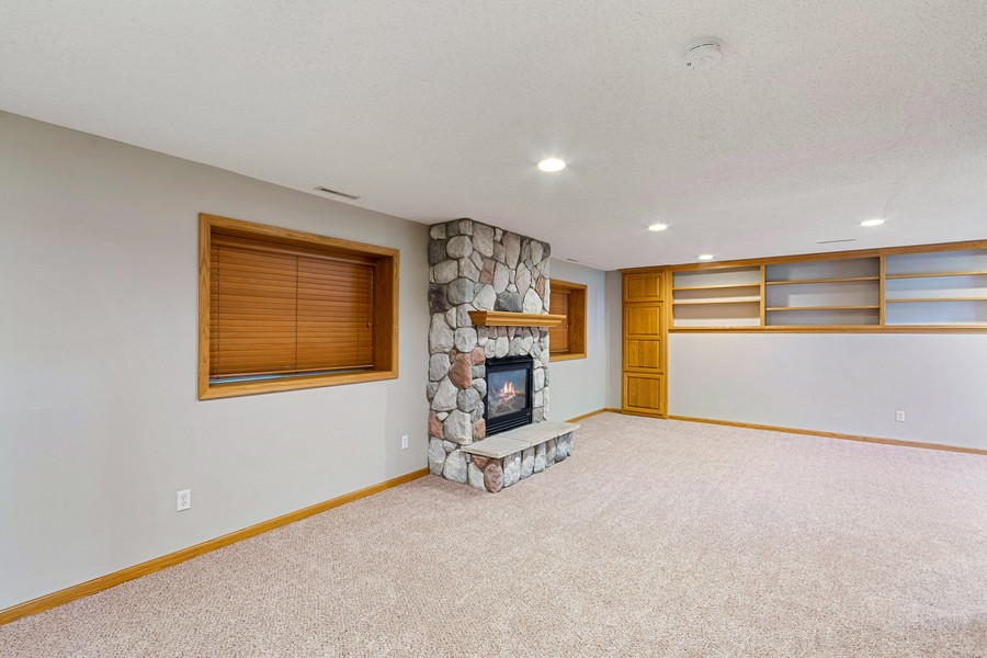Real Estate Photography - 4885 Rustic Way, Shorewood, MN, 55331 - Family Room