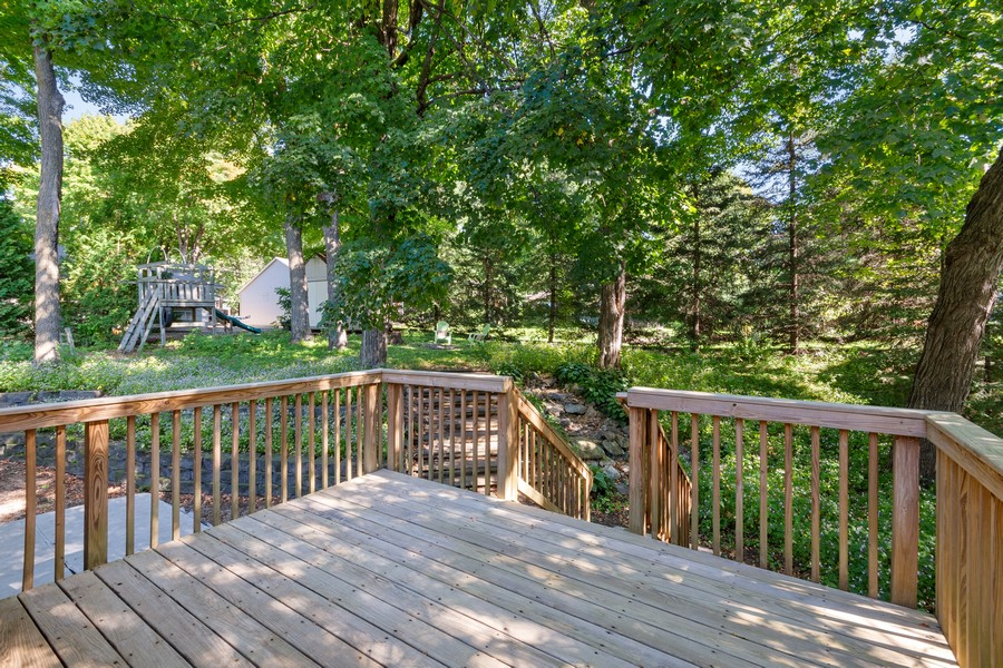 Real Estate Photography - 4885 Rustic Way, Shorewood, MN, 55331 - Deck