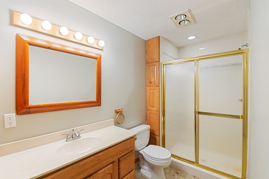 Real Estate Photography - 4885 Rustic Way, Shorewood, MN, 55331 - 2nd Bathroom