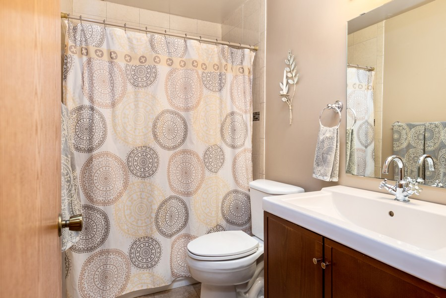 Real Estate Photography - 2069 Flanders Rd, North St Paul, MN, 55109 - Bathroom