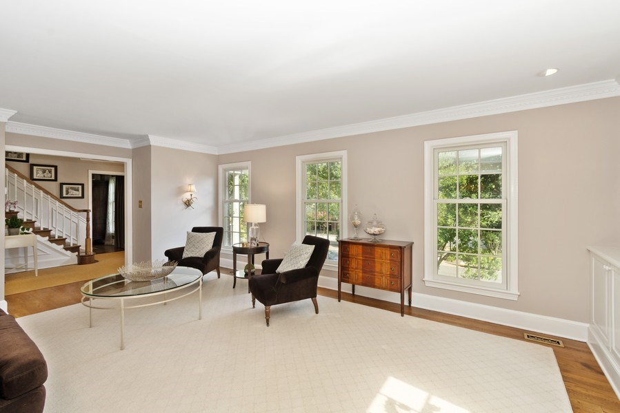 Real Estate Photography - 1401 Coventry Lane, Alexandria, VA, 22304 - Living Room