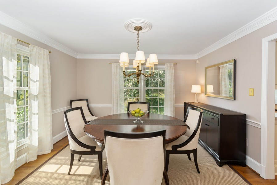 Real Estate Photography - 1401 Coventry Lane, Alexandria, VA, 22304 - Dining Room