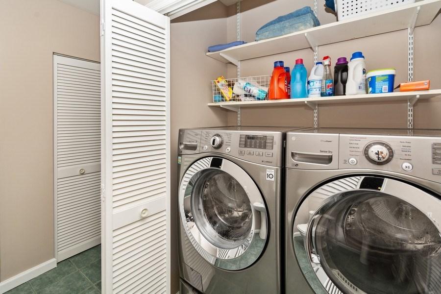 Real Estate Photography - 1401 Coventry Lane, Alexandria, VA, 22304 - Laundry Room