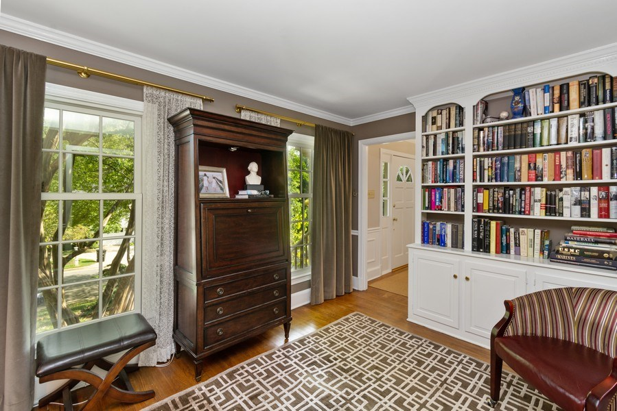 Real Estate Photography - 1401 Coventry Lane, Alexandria, VA, 22304 - Study
