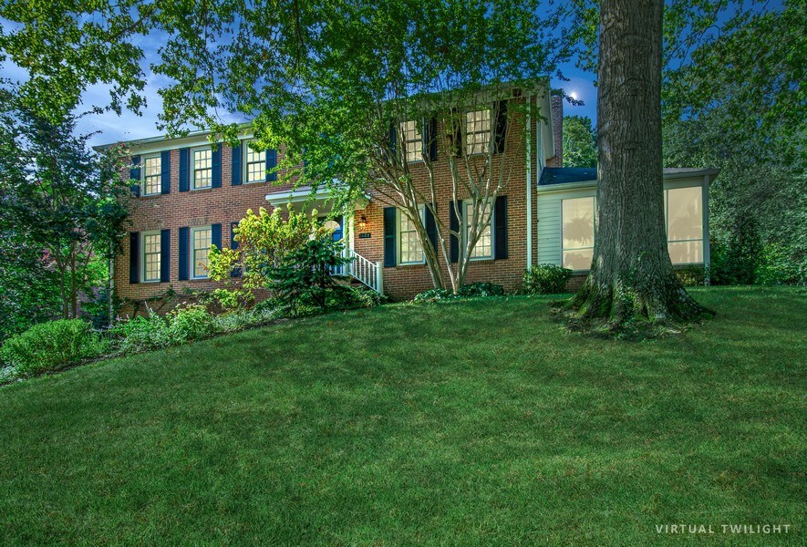 Real Estate Photography - 1401 Coventry Lane, Alexandria, VA, 22304 - Side View
