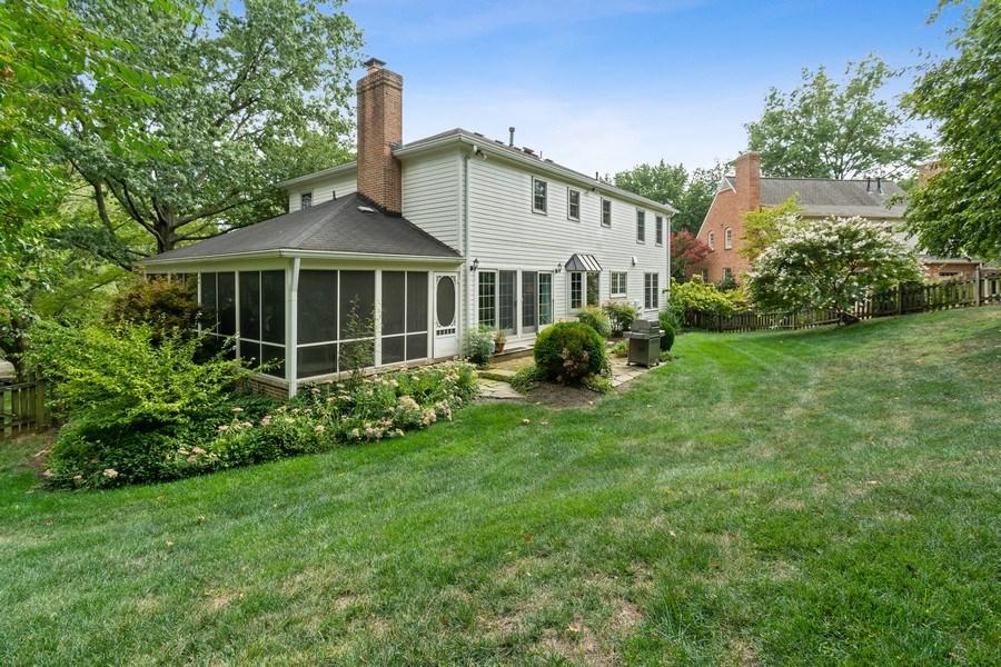 Real Estate Photography - 1401 Coventry Lane, Alexandria, VA, 22304 - Rear View