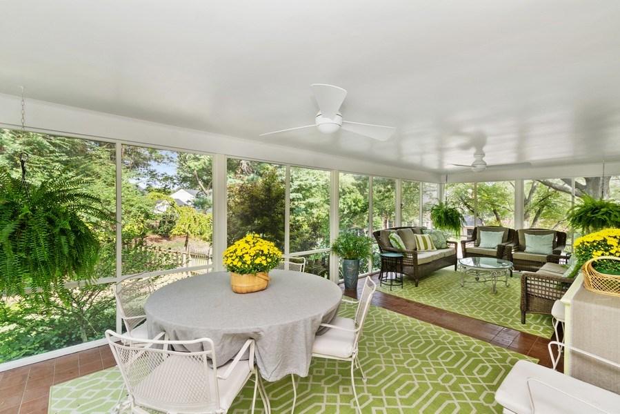 Real Estate Photography - 1401 Coventry Lane, Alexandria, VA, 22304 - Sunroom