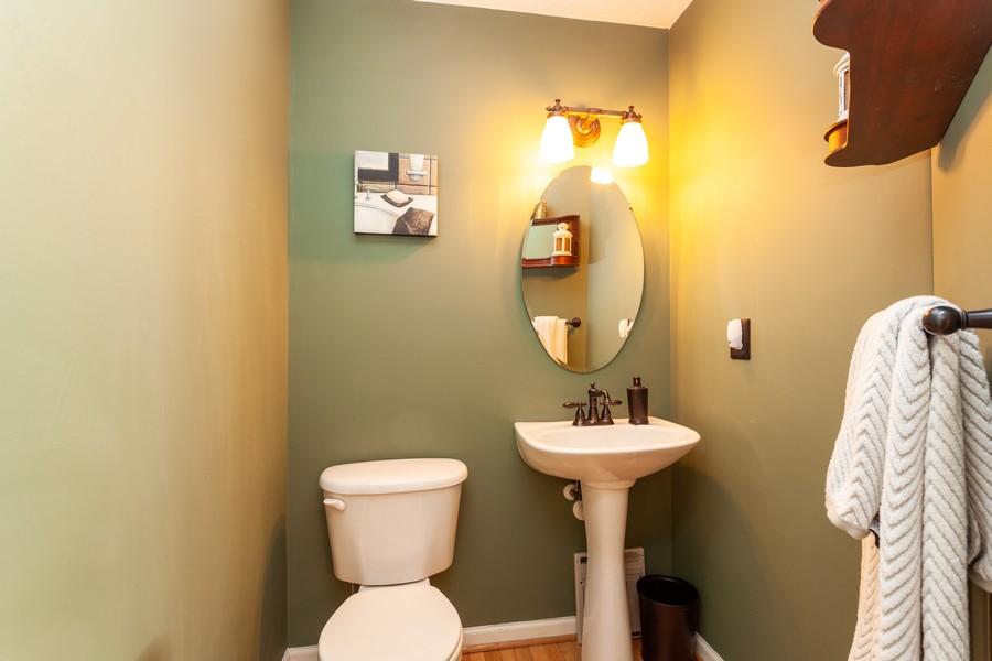 Real Estate Photography - 443 Foreland Garth, Abingdon, MD, 21009 - Powder Room