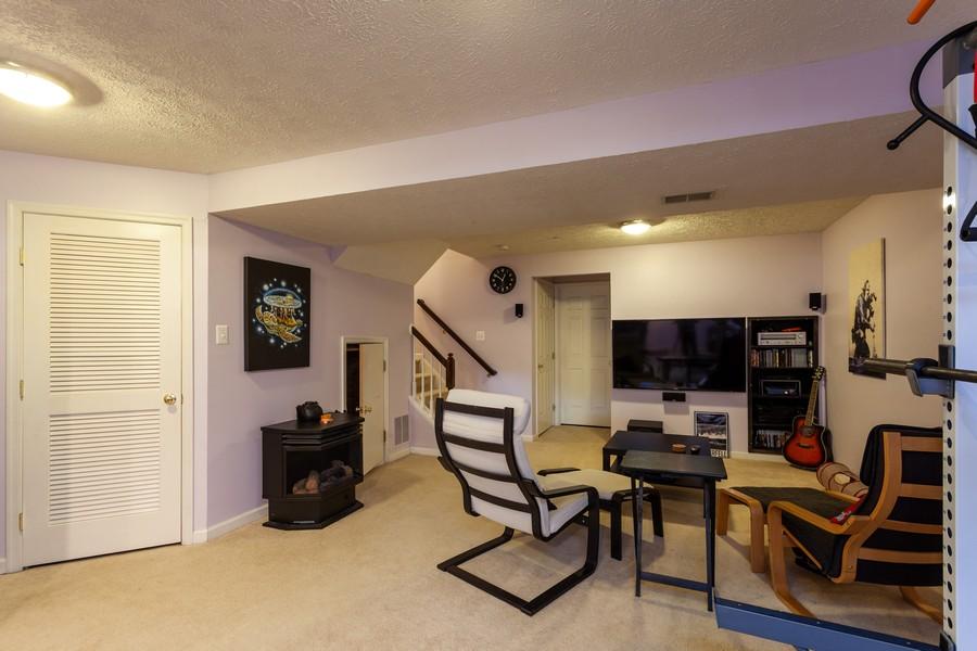 Real Estate Photography - 443 Foreland Garth, Abingdon, MD, 21009 - Basement