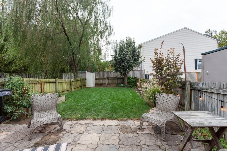 Real Estate Photography - 443 Foreland Garth, Abingdon, MD, 21009 - Back Yard
