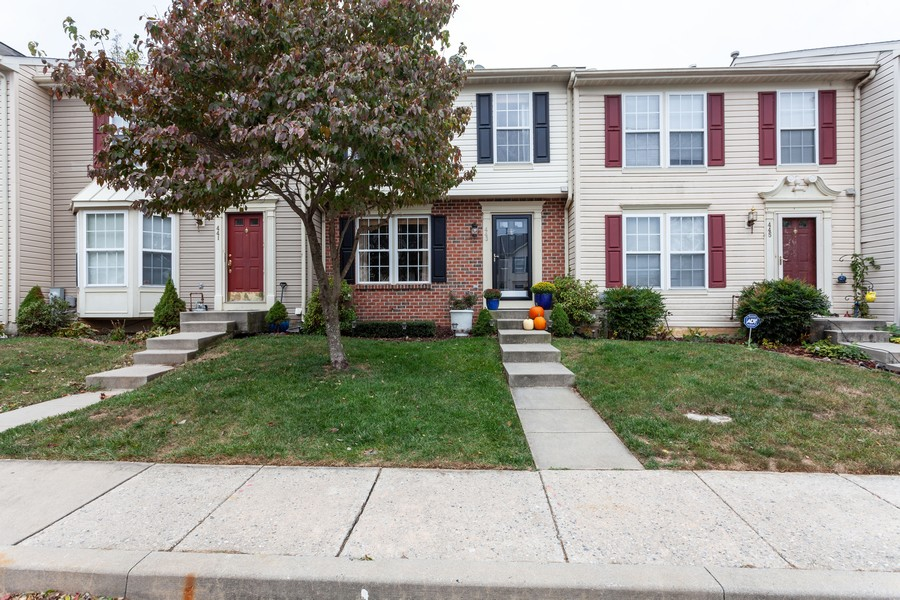Real Estate Photography - 443 Foreland Garth, Abingdon, MD, 21009 - Front View