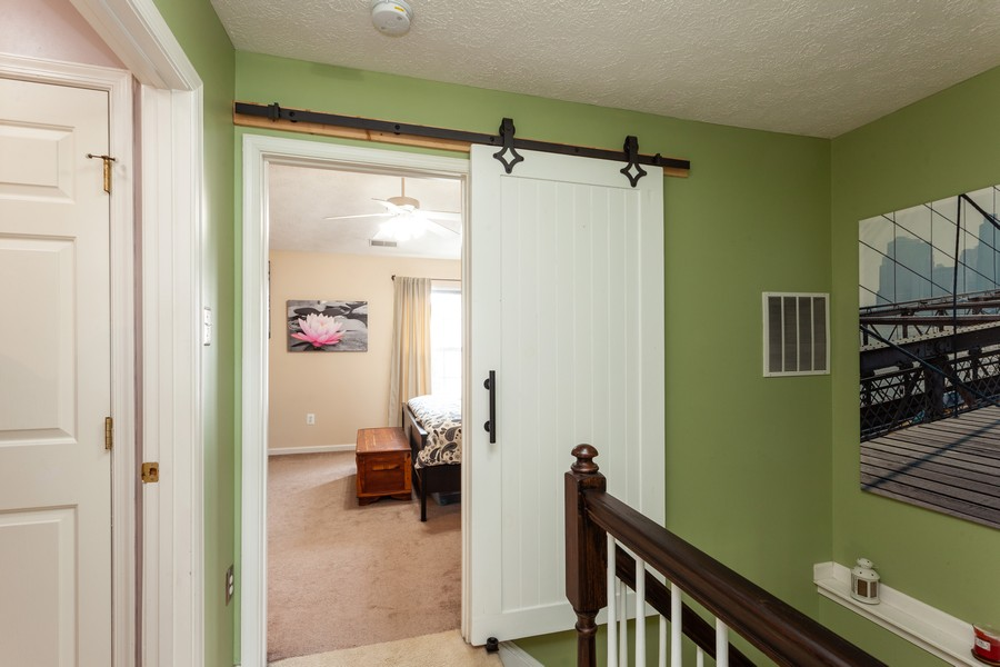 Real Estate Photography - 443 Foreland Garth, Abingdon, MD, 21009 - Staircase
