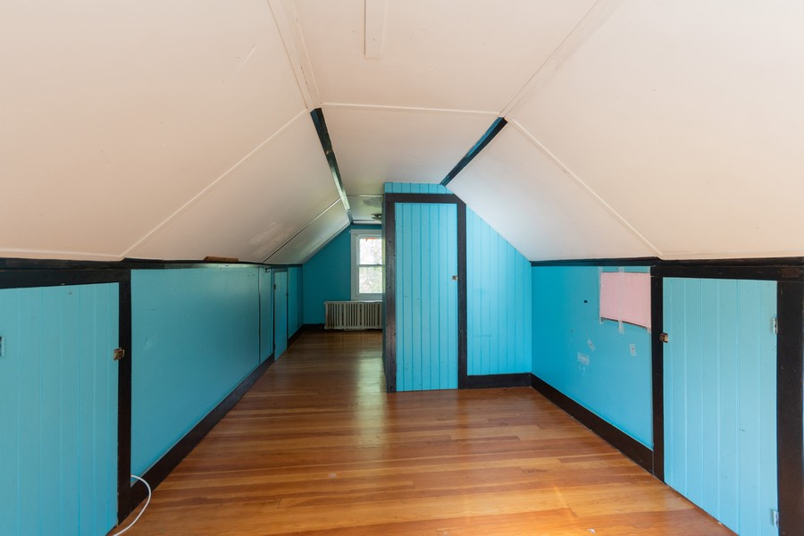Real Estate Photography - 212 Willow Ave, Cornwall, NY, 12518 - Attic