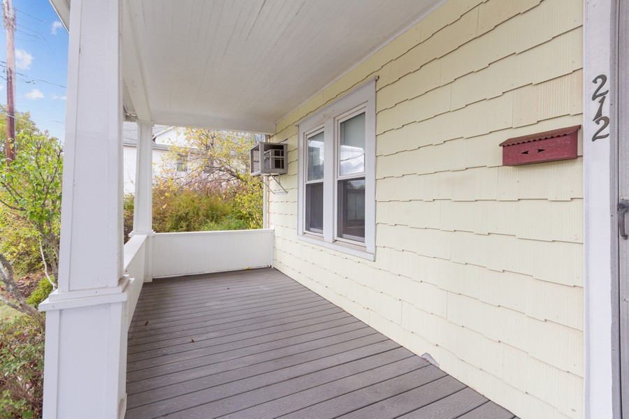 Real Estate Photography - 212 Willow Ave, Cornwall, NY, 12518 - Porch