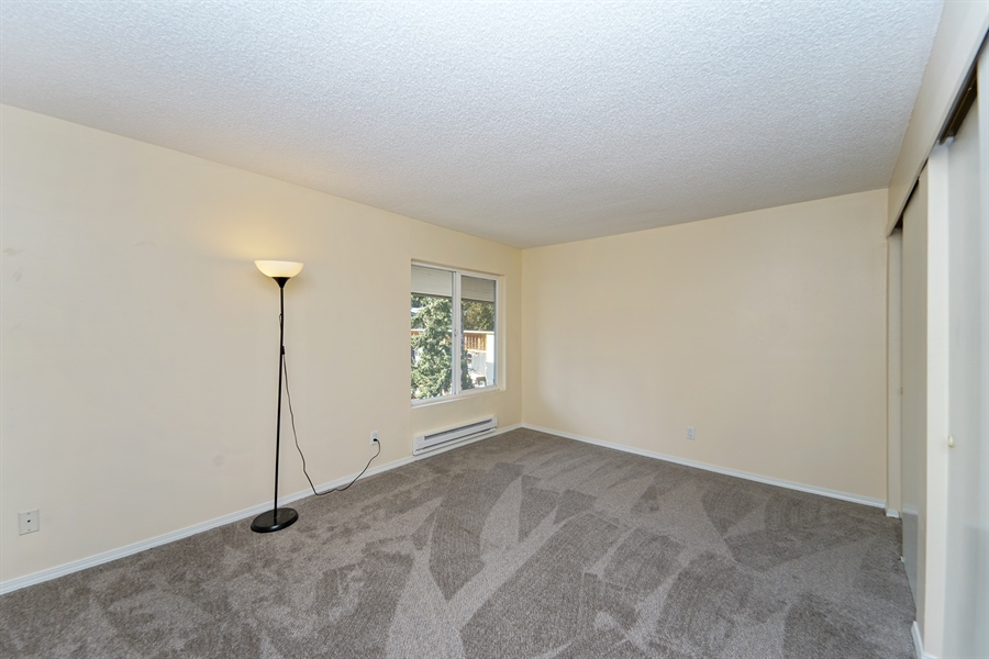 Real Estate Photography - 5620 200th St SW, unit B320, Lynnwood, WA, 98036 - Bedroom