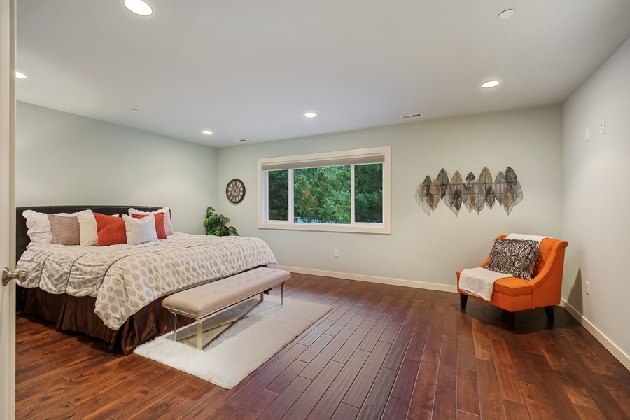 Real Estate Photography - 3580 SE 16th St, North Bend, WA, 98045 - Master Bedroom