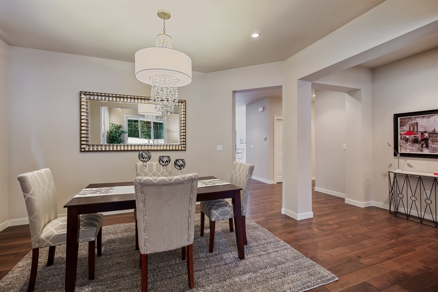 Real Estate Photography - 3580 SE 16th St, North Bend, WA, 98045 - Dining Room