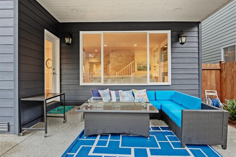 Real Estate Photography - 3580 SE 16th St, North Bend, WA, 98045 - Back Yard