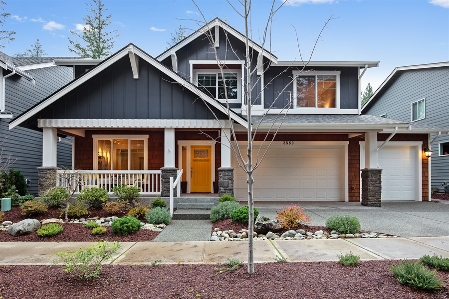 Real Estate Photography - 3580 SE 16th St, North Bend, WA, 98045 - Front View