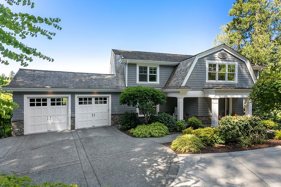 Real Estate Photography - 16480 Euclid Ave, Bainbridge Island, WA, 98110 - Front View
