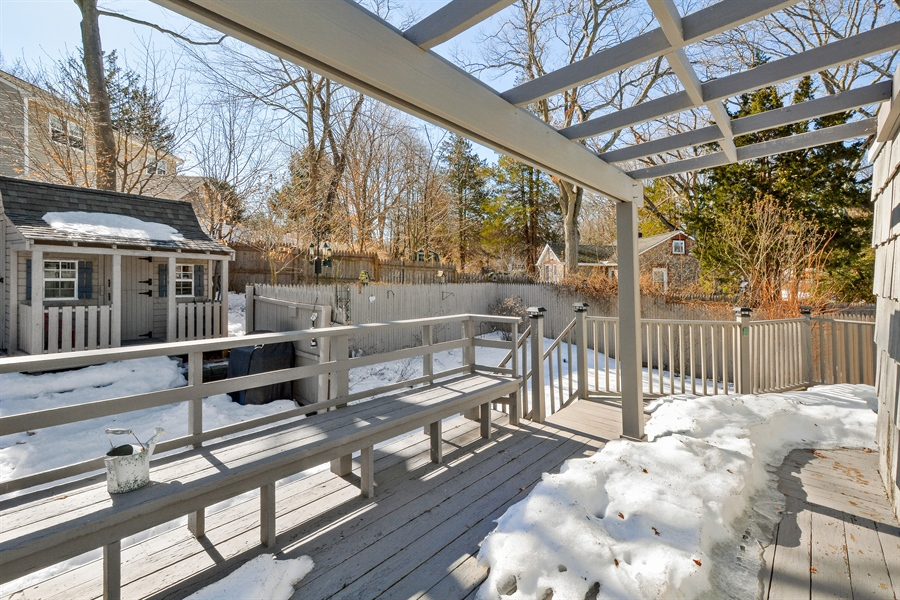 Real Estate Photography - 51 Block Island Dr, Sound Beach, NY, 11789 - Deck