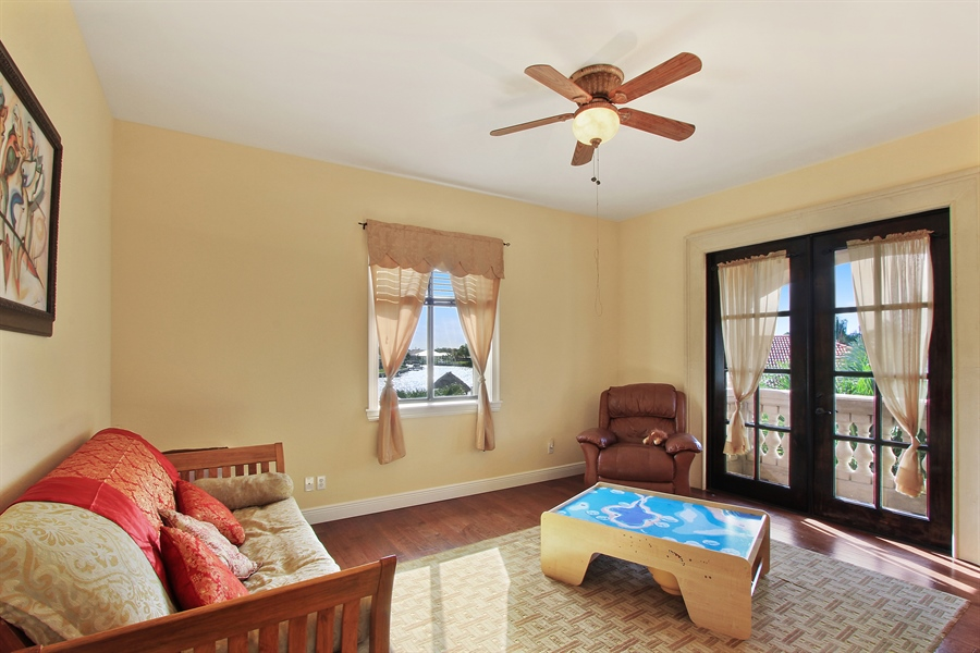 Real Estate Photography - 1930 SE 21st Ter, Cape Coral, FL, 33990 - Game room or study on second level with bedrooms