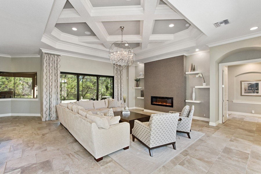 Real Estate Photography - 6751 Mossy Glen Drive, Ft. Myers, FL, 33908 - Living Room