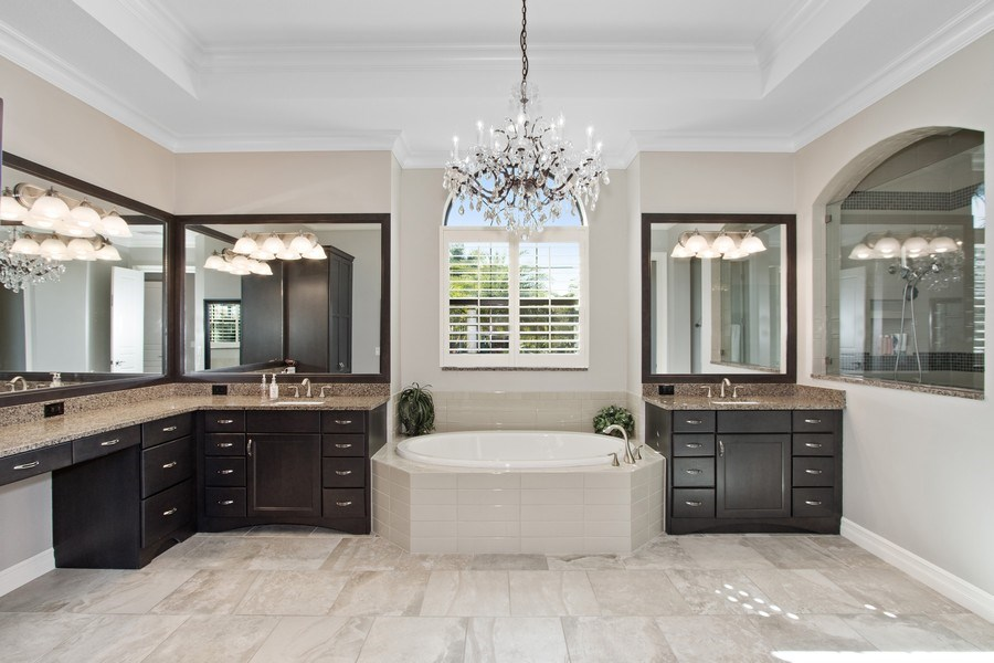 Real Estate Photography - 6751 Mossy Glen Drive, Ft. Myers, FL, 33908 - Master Bathroom
