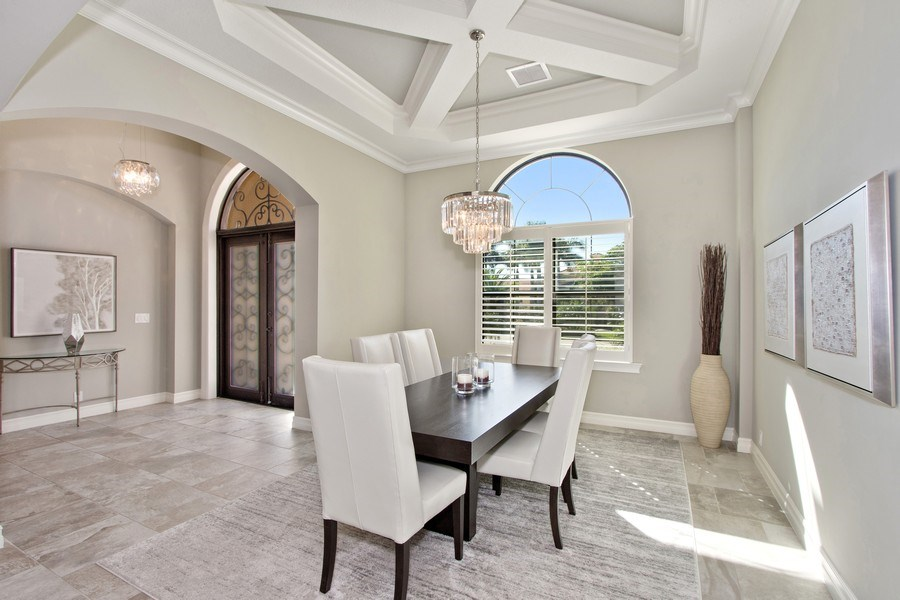 Real Estate Photography - 6751 Mossy Glen Drive, Ft. Myers, FL, 33908 - Dining Room