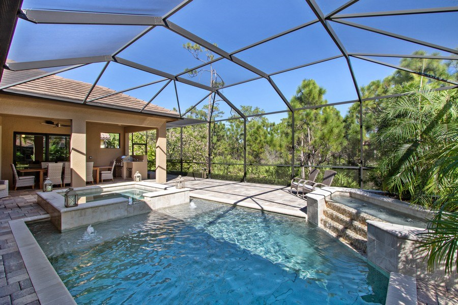 Real Estate Photography - 6751 Mossy Glen Drive, Ft. Myers, FL, 33908 - Pool
