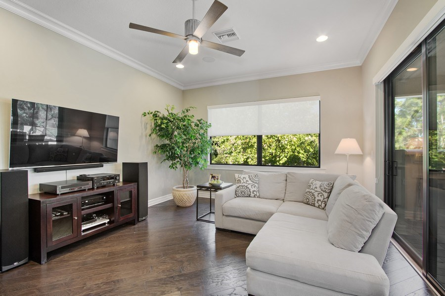 Real Estate Photography - 6751 Mossy Glen Drive, Ft. Myers, FL, 33908 - Family Room