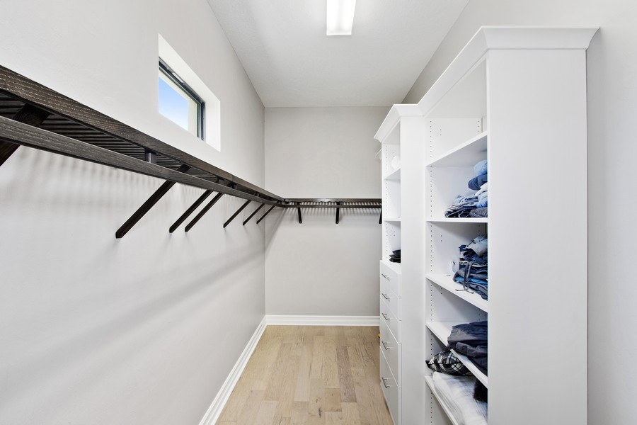 Real Estate Photography - 6751 Mossy Glen Drive, Ft. Myers, FL, 33908 - Master Bedroom Closet