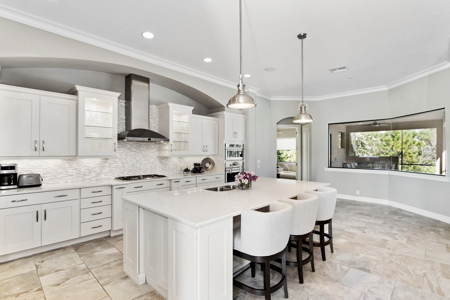 Real Estate Photography - 6751 Mossy Glen Drive, Ft. Myers, FL, 33908 - Kitchen